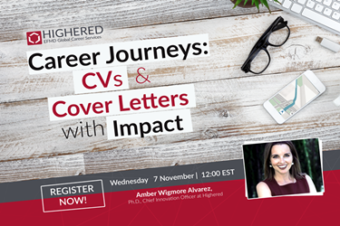 CAREER JOURNEYS: CVs & COVER LETTERS WITH IMPACT