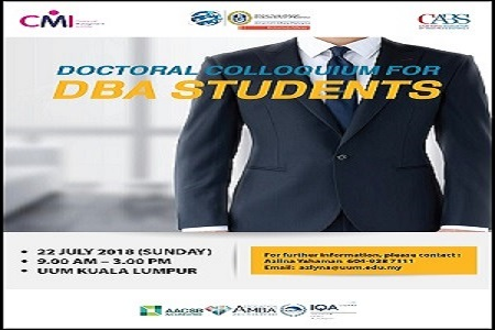 Doctoral Colloqium for DBA Students