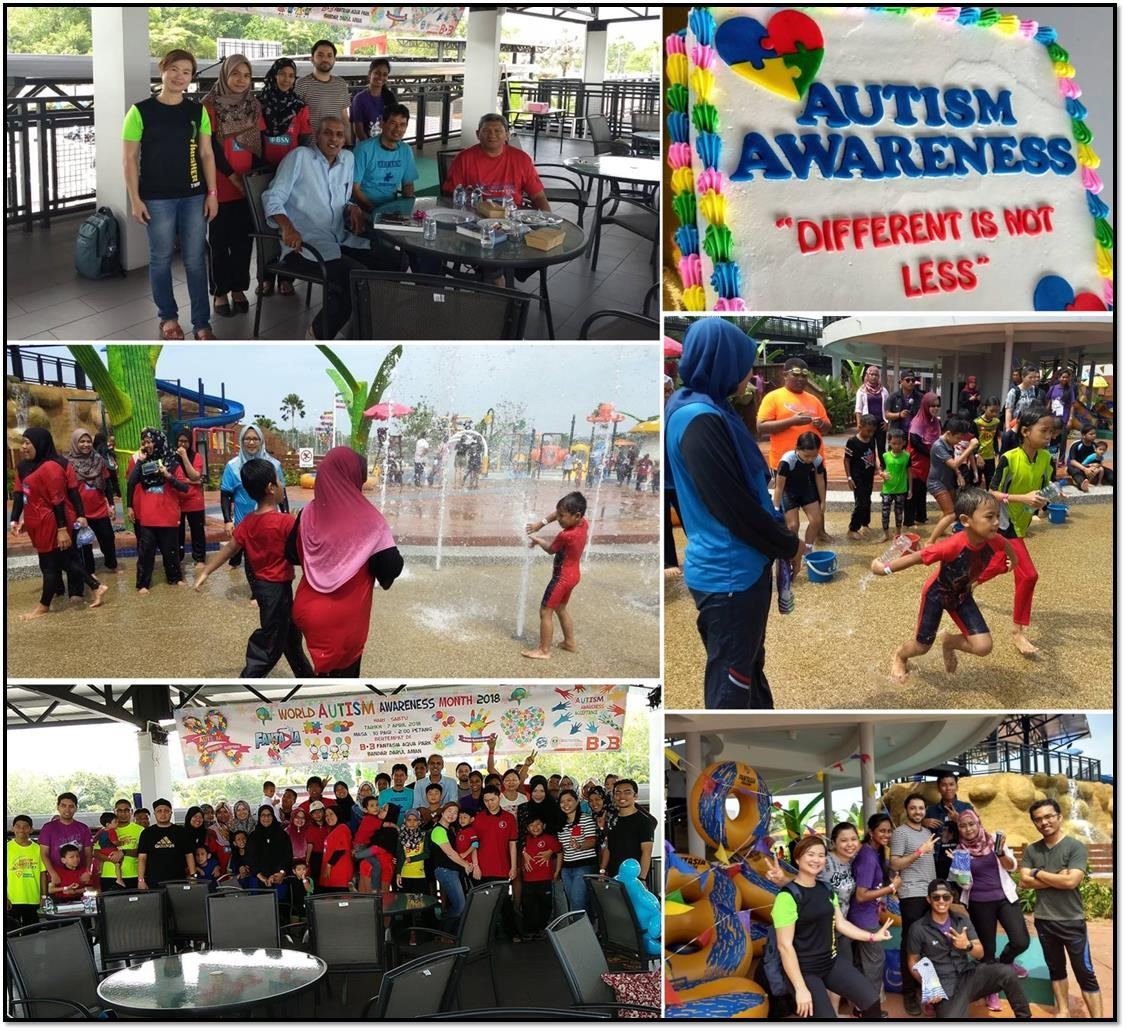 Splashing Fun Time With Children With Special Needs